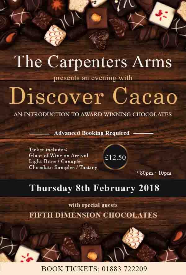 8th February Carpenters Arms