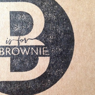 B is for Brownie logo
