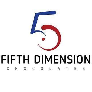 Fifth Dimension Chocolates logo