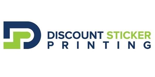 Discount Sticker Print Logo